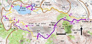Itinéraire du sentier flore et faune Natura 2000