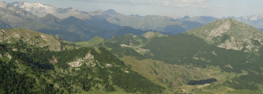 L'Etang de Lers au pied du Mont Béas